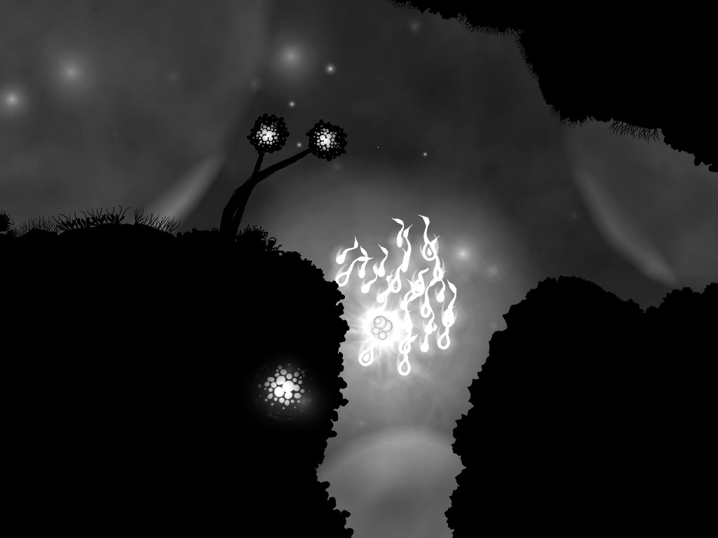 The silhouettes - seemingly inspired by games like Limbo - are extremely simple but manages to charm and engross players.